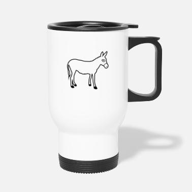 Muli Donkey | Horse riding Bauernhof Muli Horseback riding stable - Travel Mug