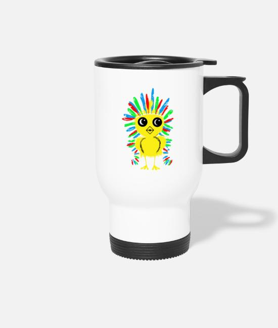 Cuddly Mugs & Drinkware - Chick apache - Travel Mug white