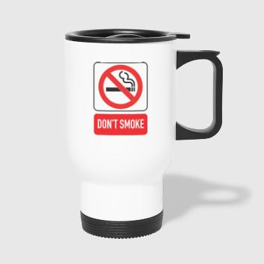 interdiction de fumer - Mug thermos