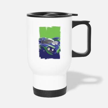 1970 S Classic Endurance Racing Car - Travel Mug