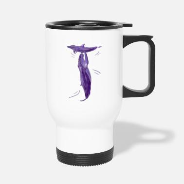 Wale Wale/whales Version 7 - Travel Mug