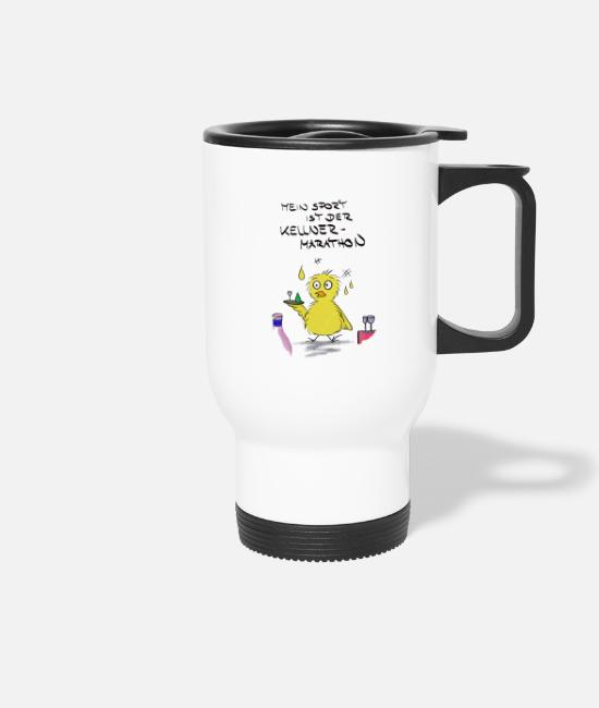 Sport Mugs & Drinkware - duck - Travel Mug white