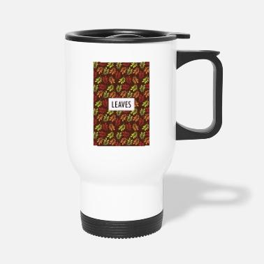Feuille feuilles - Mug isotherme