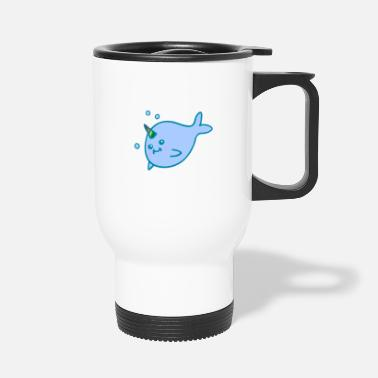 Sumu Lee narwhal - Travel Mug