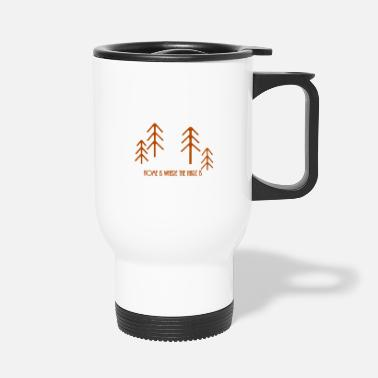 Resin Home is where the resin is - Travel Mug