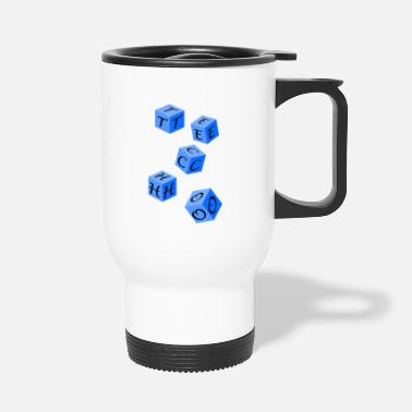 Techno Bass Techno - Travel Mug