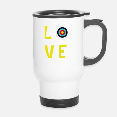 love archery - Thermobecher