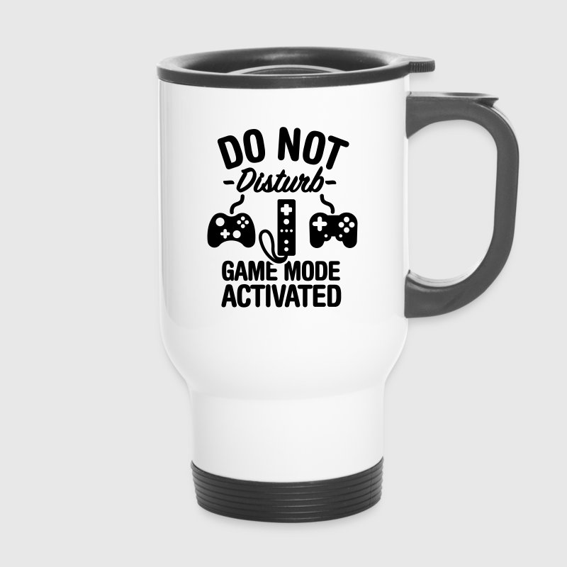 Do not disturb game mode activated - Travel Mug