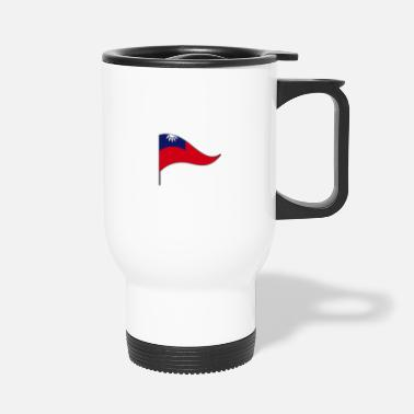 Country Flag Flag. Banner. Country flag. Countries. Taiwan. Tai - Travel Mug
