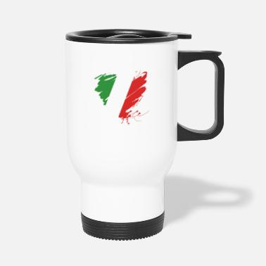 Cuore Heart Cuore Italy Italy Football - Travel Mug