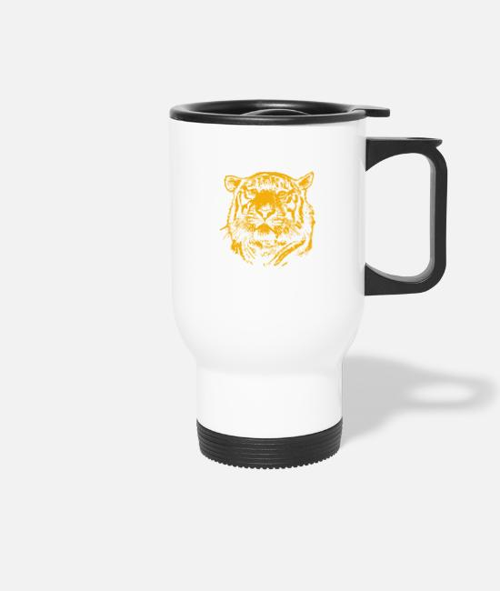 Boss Mugs & Drinkware - Lions Head lion head - Travel Mug white