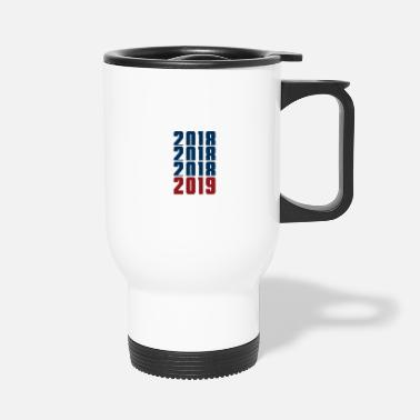 New Years Day New year new year 2019 new year beer party year - Travel Mug