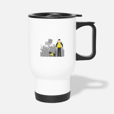 Gilet Jaune protests in France - Travel Mug