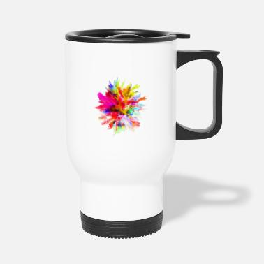 Stains Watercolor stain - Travel Mug