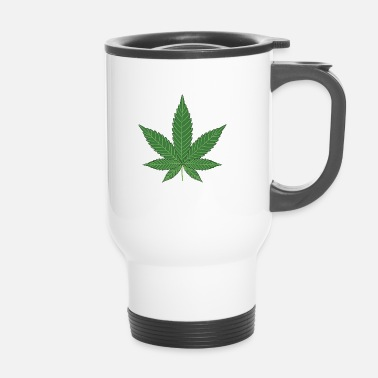 Leaf Cannabis leaf - Mug thermos