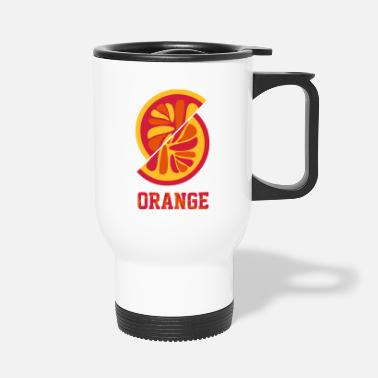 Orange Orange orange - Travel Mug