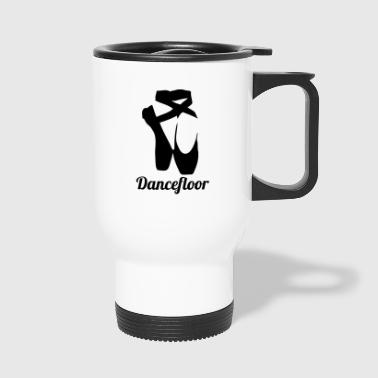 dancefloor blak - Travel Mug