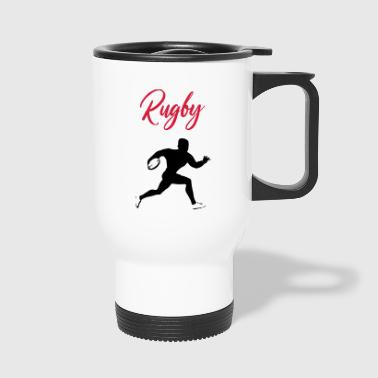 rugby - Travel Mug