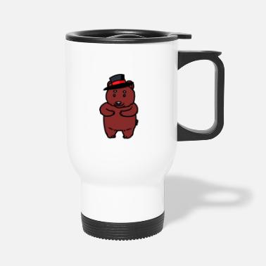 Sir Sir Mister Teddy Bear Kids Child Baby - Travel Mug