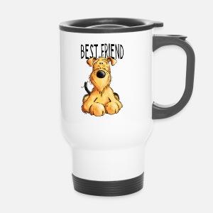 airedale terrier mein bester freund geschenk von modartis spreadshirt. Black Bedroom Furniture Sets. Home Design Ideas