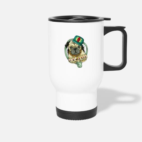 Bulldog Mugs & Drinkware - Bulldog - Travel Mug white