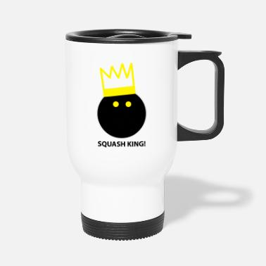 Squash Squash King - Travel Mug
