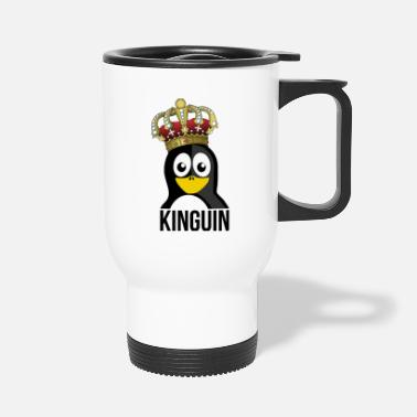 Kungarike Kinguin Penguin Royal Crown Slotts - Termosmugg