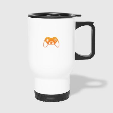 Gaming - Welt retten - Videogame Shirt - Tazza termica