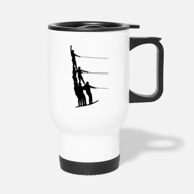Water Sports Water skiing water sports - Travel Mug