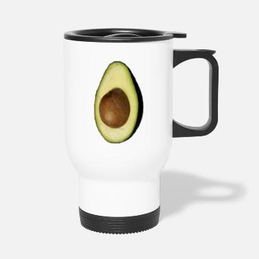 Eddart Real Photo Trendy AVOCADO vertical - Thermobecher
