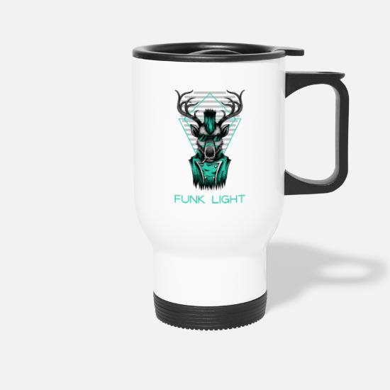 Sunglasses Mugs & Drinkware - Funk Light - Travel Mug white