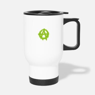 Aggressive Anarchy symbol - Travel Mug