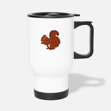 Squirrel Squirrel colored - Travel Mug