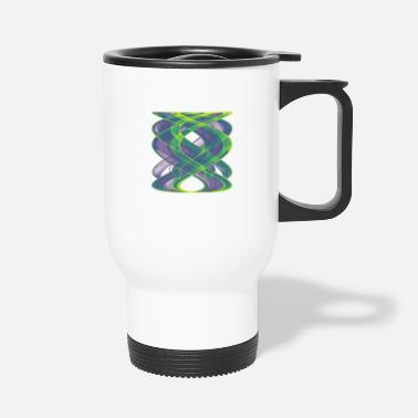 Graphic Art Watercolor art graphic painting picture chaos 13833vir - Travel Mug