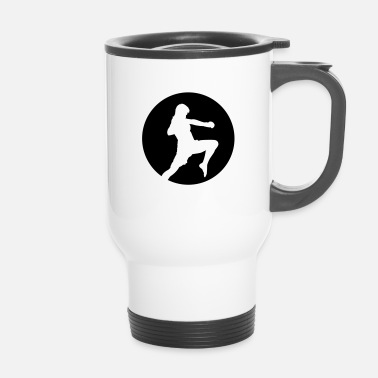 Ninja Fighter - arts martiaux - Mug thermos