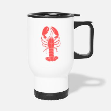Water red lobster - Travel Mug