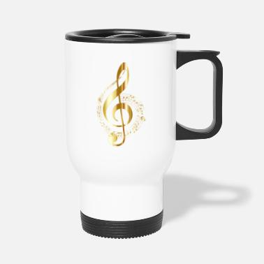 Music Note musical note - Travel Mug