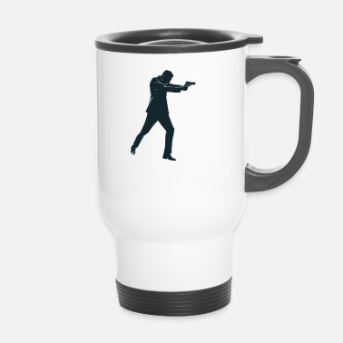 Agent Secret agent secret - Mug thermos