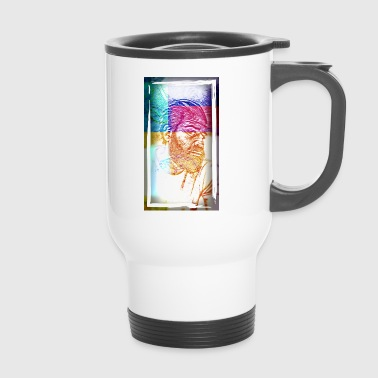 Philosopher Bearded philosopher - Travel Mug