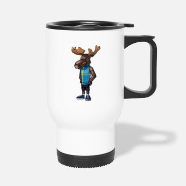 Swedish Swedish moose - Travel Mug