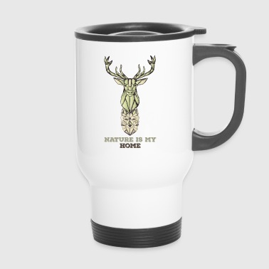 Stag Wolf - Travel Mug