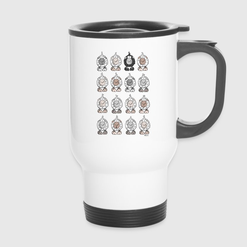 Wolly Sheep - Travel Mug