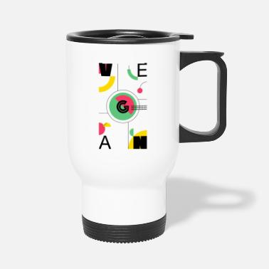 Abstract Vegan - Travel Mug