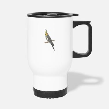 Gawkclothing Cockatiel Allegedly Ostrich, GawkClothing, Ornitolo - Travel Mug