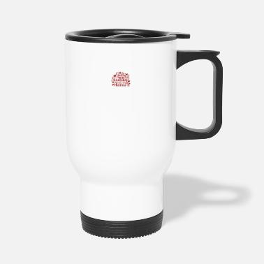 Steal Valentine Typography Guilty of Stealing Hearts - Travel Mug