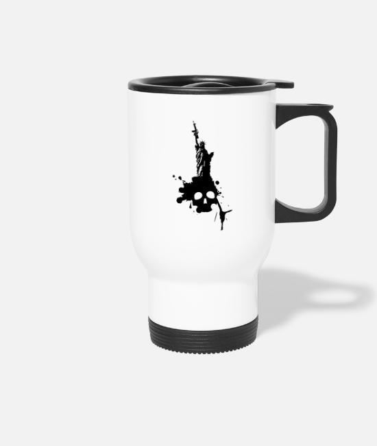 Politics Mugs & Drinkware - The Empire Strikes to ..! - Travel Mug white