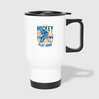 hockey - Travel Mug