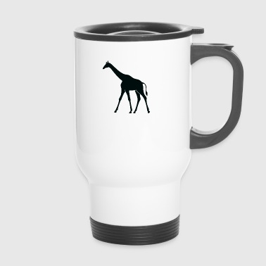 A Large Giraffe - Travel Mug