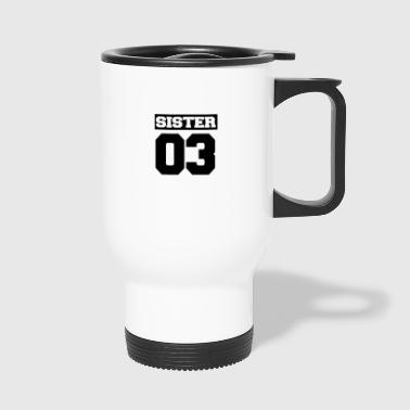 Sister shirt for siblings - Travel Mug