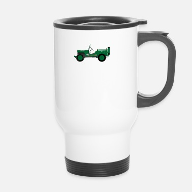 Vehicle Army vehicle - Travel Mug